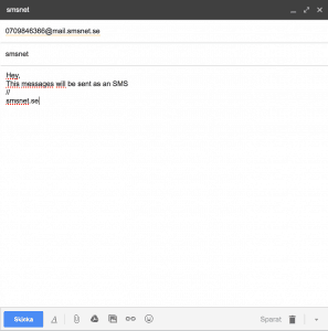 SMTP mail